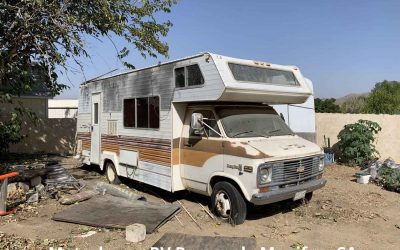 Junk RV Removal In Menifee, CA (Temecula Valley). This Motorhome Had To Go!