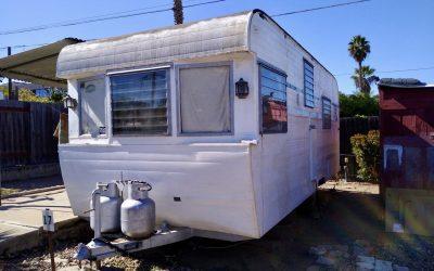 Vintage Park Model Trailer Removal – El Cajon / San Diego